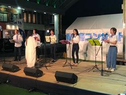 「青い鳥コンサート」にゴスペルの生徒さん出演!