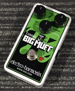 【 electro - harmonix 】Nano Bass Big Muff Pi